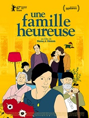 une famille heureuse - Poster