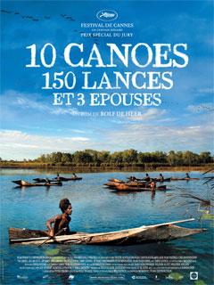 10 canoes, 150 lances et 3 épouses - Poster