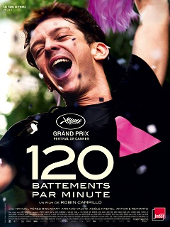 120 battements par minute  - Poster